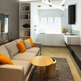 кухня гостиная 22 квадратных метра идеи фото