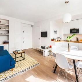 кухня гостиная 22 квадратных метра виды дизайна