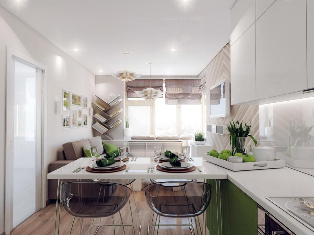 кухня гостиная 22 квадратных метра декор идеи