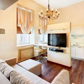 кухня гостиная 22 квадратных метра идеи дизайна