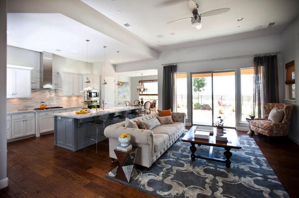 кухня гостиная 22 квадратных метра идеи вариантов