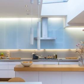 кухня ниша декор идеи