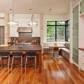 кухня ниша фото декор