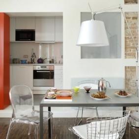 кухня ниша фото интерьер