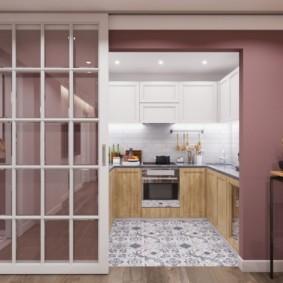 кухня ниша фото оформления