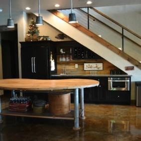 кухня ниша идеи декор