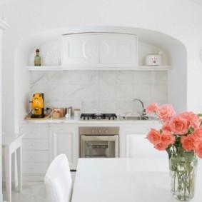 кухня ниша идеи дизайн