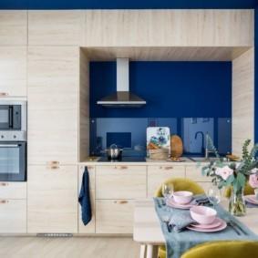 кухня ниша интерьер фото