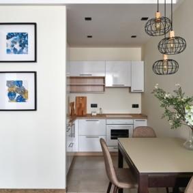 кухня ниша виды фото