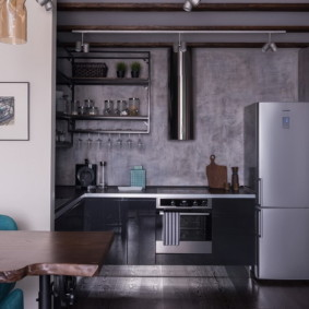 кухня ниша виды интерьера