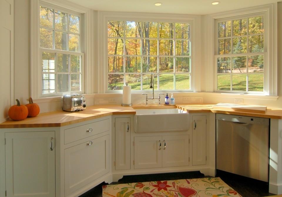 кухня с эркером дизайн идеи