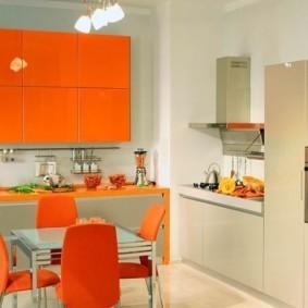 кухня с вентиляционным коробом дизайн