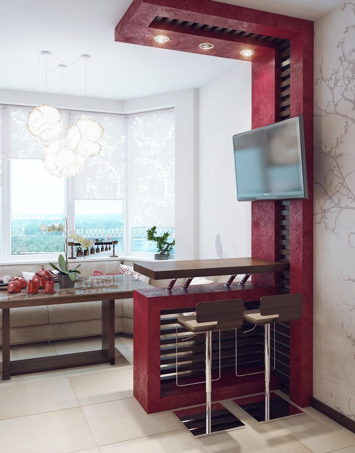 система балансировки кухня с выбитым балконом фото мастер-классе показана