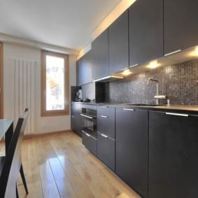 кухня совмещенная с балконом оформление