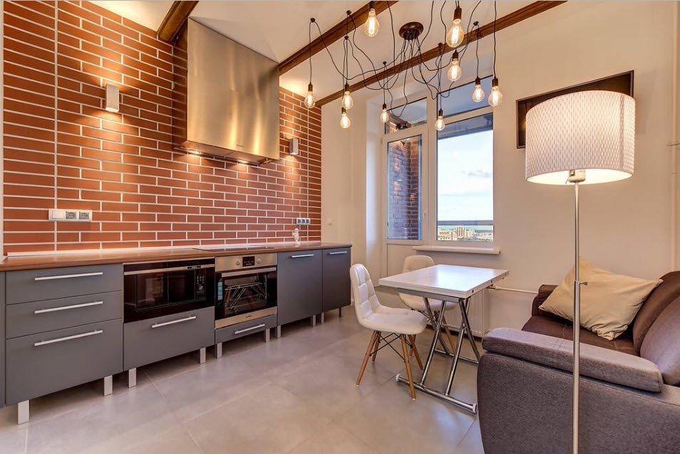 кухня совмещенная с балконом оформление идеи