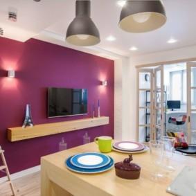 кухня совмещенная с балконом виды фото