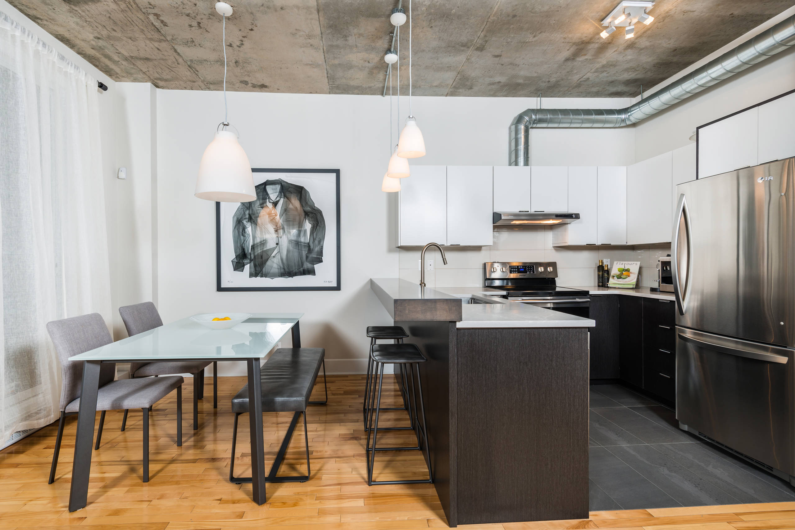 кухня студия в квартире идеи дизайна