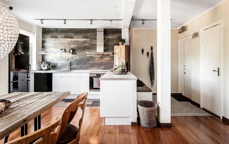 кухня студия в квартире идеи варианты