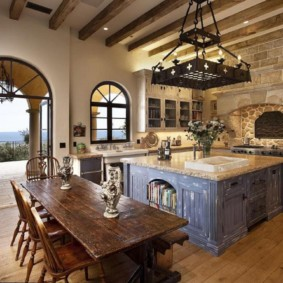 кухня в средиземноморском стиле фото дизайн