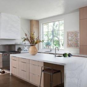 кухня в средиземноморском стиле интерьер фото