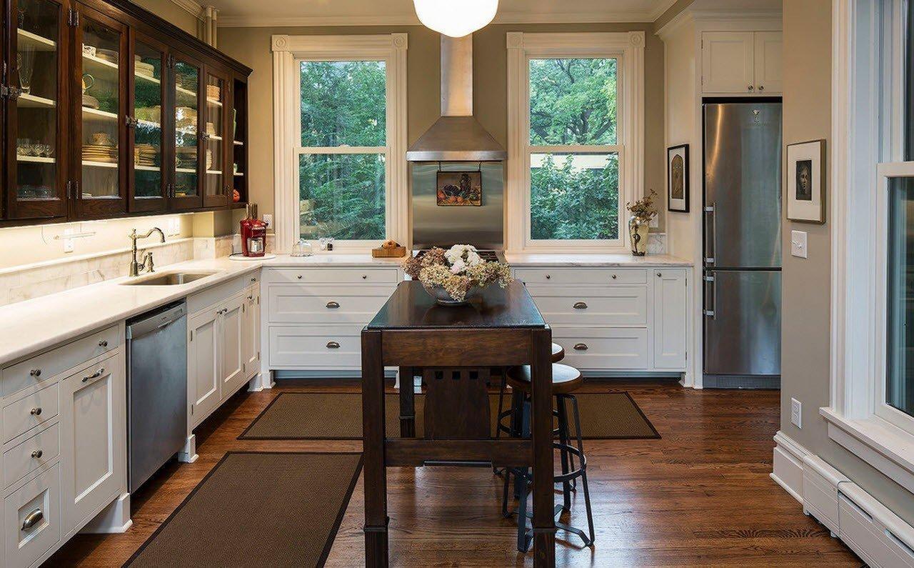 кухня в загородном доме фото дизайна