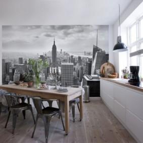 кухня в загородном доме фото идеи