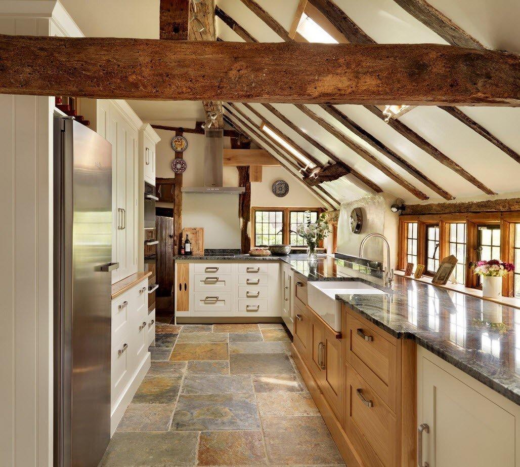 кухня в загородном доме идеи дизайн
