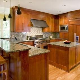 кухня в загородном доме идеи дизайна