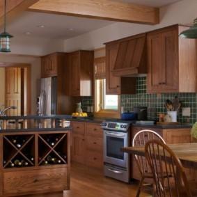 кухня в загородном доме идеи оформление