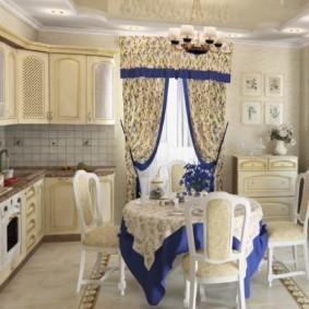 кухня в загородном доме идеи оформления