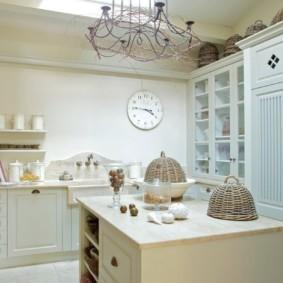 кухня в загородном доме идеи виды