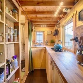 кухня в загородном доме оформление идеи