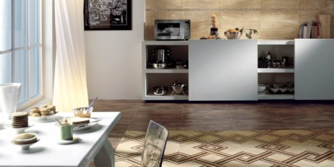 кухонная плитка на пол