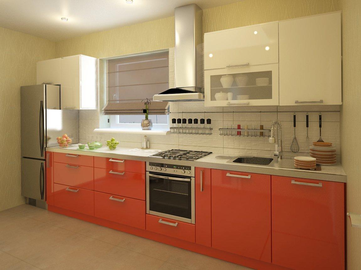 кухни бежевый верх персиковый низ фото параметры