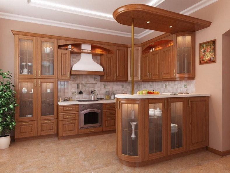 кухонный гарнитур с барной стойкой идеи видов