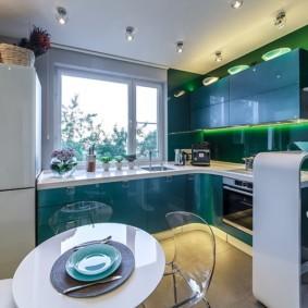 кухонный гарнитур с барной стойкой виды идеи