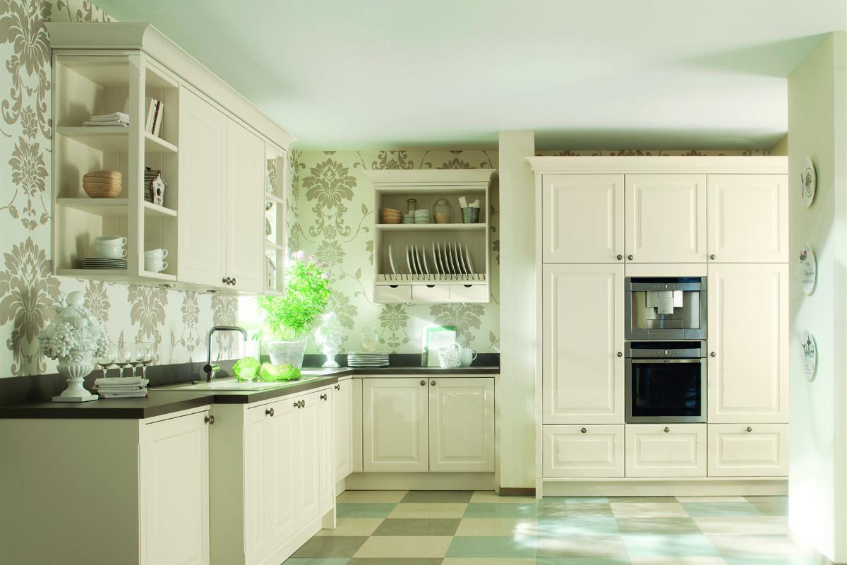 кухонный гарнитур в цвете ваниль и крем-брюле идеи интерьера