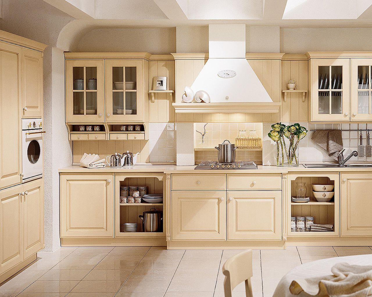 кухонный гарнитур в цвете ваниль и крем-брюле идеи оформление