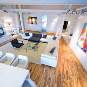 квартира студия в стиле лофт фото дизайн