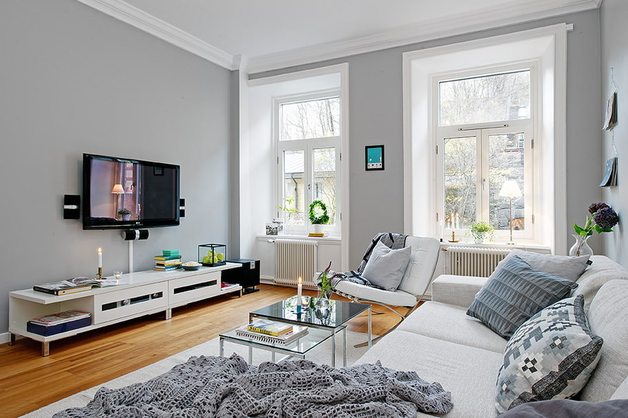 квартира в скандинавском стиле декор