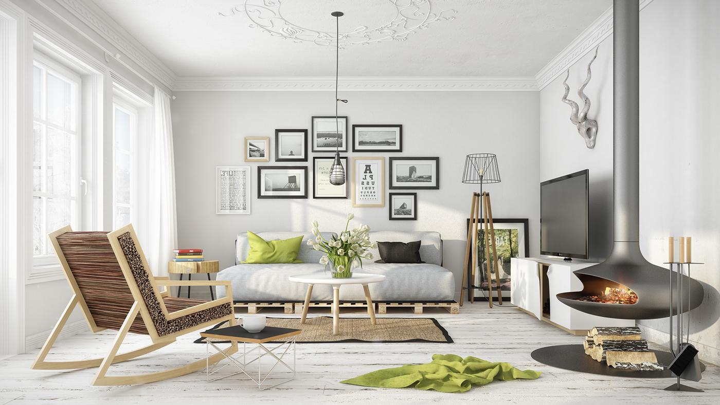 квартира в скандинавском стиле фото варианты