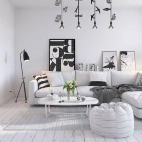 квартира в скандинавском стиле идеи варианты