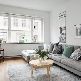 квартира в скандинавском стиле интерьер