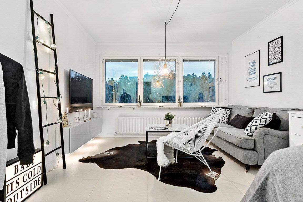 квартира в скандинавском стиле оформление