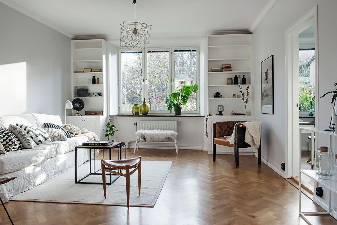 квартира в скандинавском стиле варианты фото