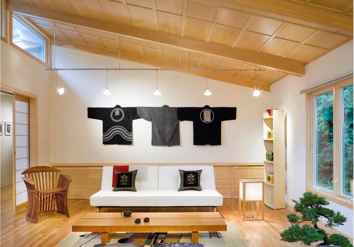 квартира в японском стиле декор фото