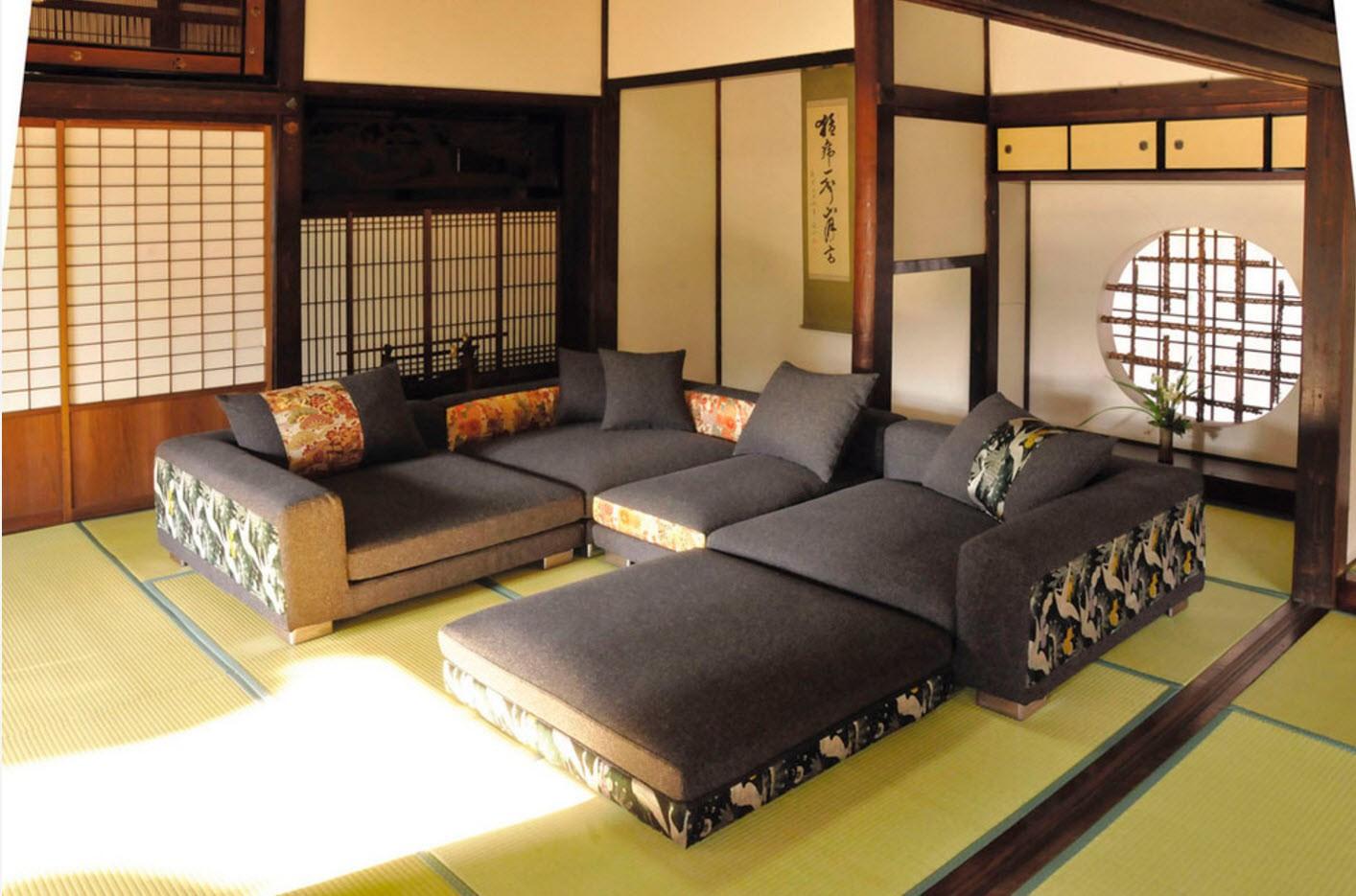 квартира в японском стиле фото декора