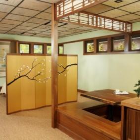 квартира в японском стиле фото идеи