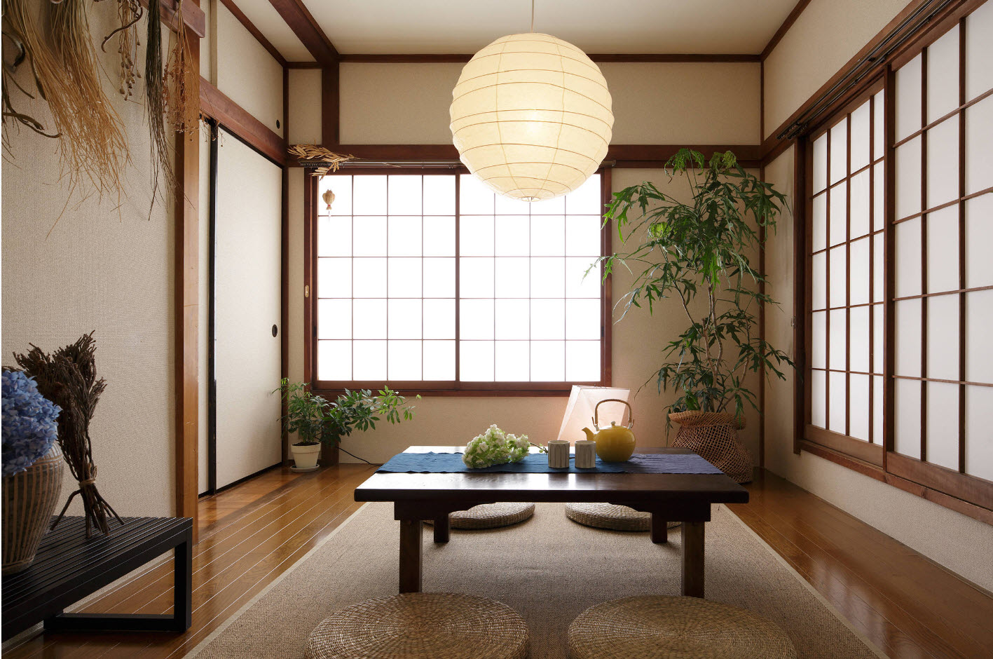 квартира в японском стиле фото