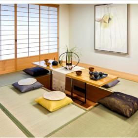 квартира в японском стиле оформление идеи